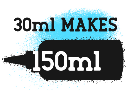 30ml Makes 150ml eliquid